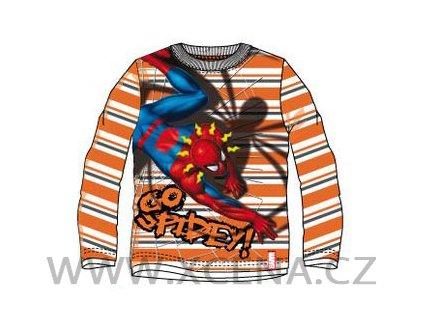 Spiderman triko oranžové model A1