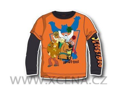 tričko Scooby doo oranžové