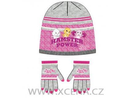 Zhu Zhu Pets čepice rukavice