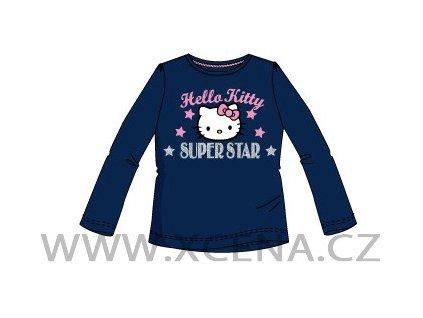 Tričko Hello kitty tmavě modré