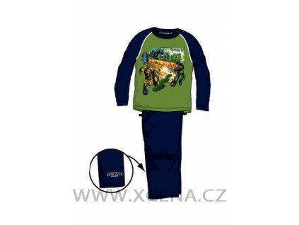 Pyžamo Gormiti zelené