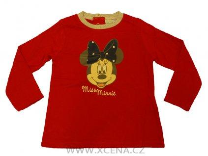 Miss Minnie tričko červené