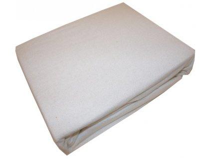 Prostěradlo napínací bílé 160x200