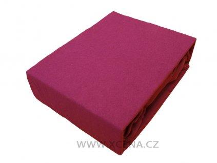 Prostěradlo bavlna fialové 160x200