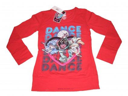 Monster High trička červené