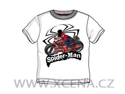 Spiderman trička bílé model A