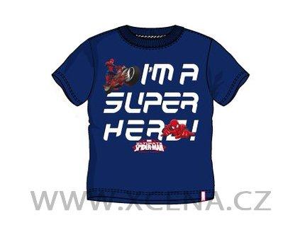 Spiderman tričko tmavě modré model A