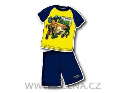 Gormiti pyžama chlapecké žluté