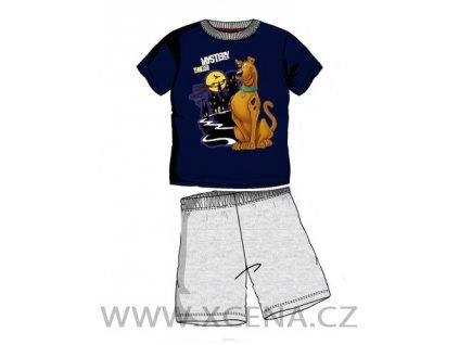 Pyžamo chlapecké Scooby Doo modré