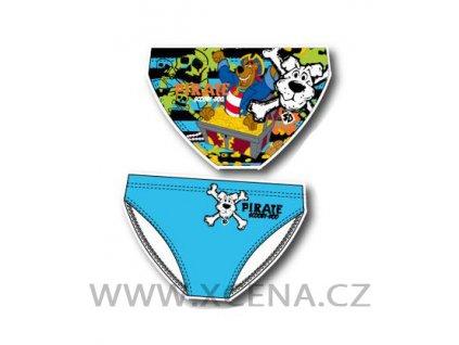 Chlapecké plavky Scooby Doo tyrkysové