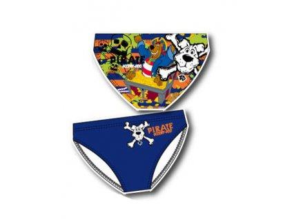 chlapecké plavky Scooby Doo modré