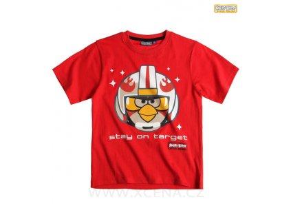Angry Birds triko červené