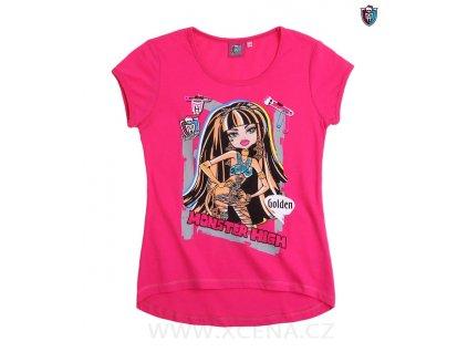 Monster High tričko růžové model A