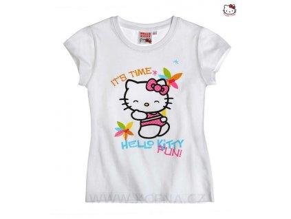 Hello Kitty triko bílé model A
