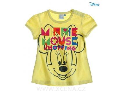 Minnie tričko žluté model A