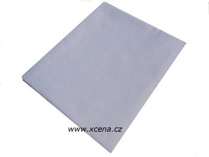 Bavlněné prostěradlo bílé plachta 140/225 cm