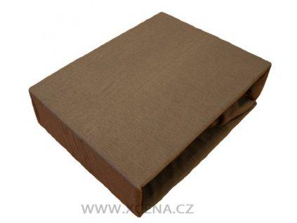 Bavlněné prostěradlo 160 x 200 cm šedé