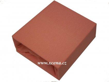 Bavlněnné prostěradlo do postýlky růžové 60x120cm