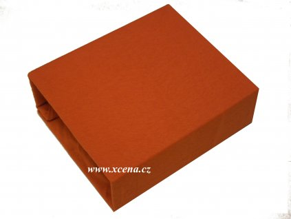 Dětské prostěradlo oranžové 60x120cm