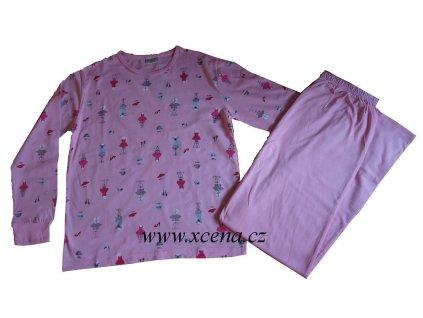 Dětská pyžama růžová