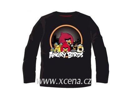 Angry Birds tričko černé licenční