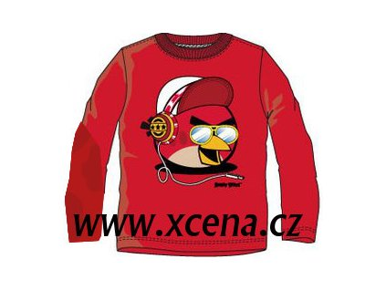 Angry Birds trička červená typ 1