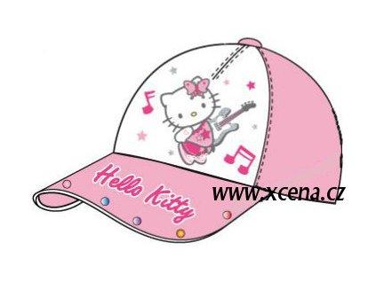 Čepice Hello Kitty růžová model 1