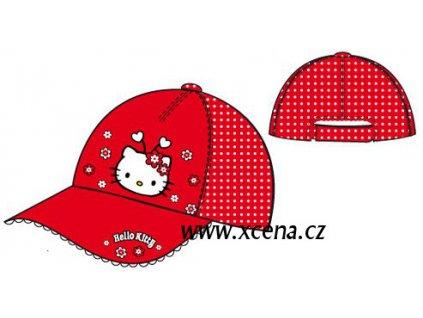 Čepice Hello Kitty červená typ A