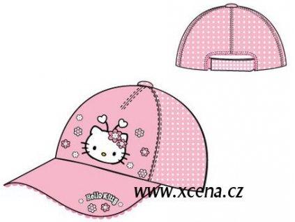 Čepice Hello Kitty růžová model A