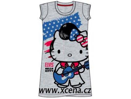 Noční košile Hello Kitty světle šedá