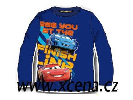 Tričko Cars modré model A