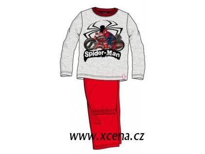 Spiderman pyžama šedé model A1