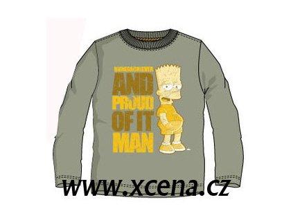 Bart Simpson triko khaky typ A