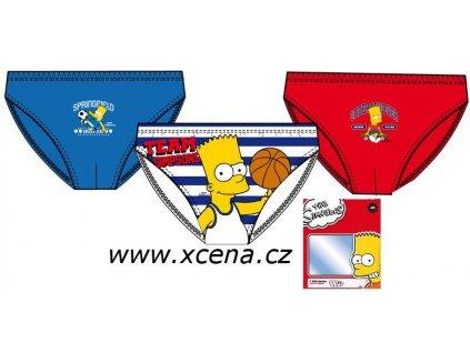 Bart Simpson slipy 3 kusy