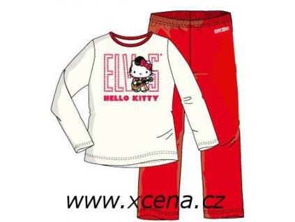 Pyžamo Hello Kitty bílé