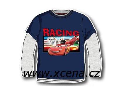 Cars tričko chlapecké tmavě modré typ A1
