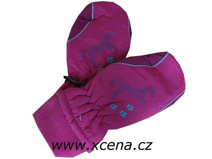 Dětské palčáky růžové
