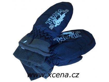 Dětské palčáky tmavě modré