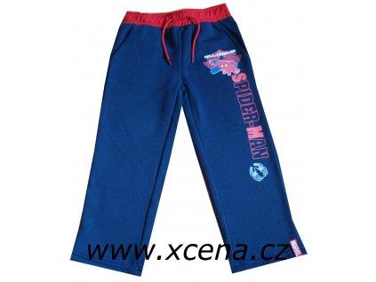 Tepláky Spiderman tmavě modré
