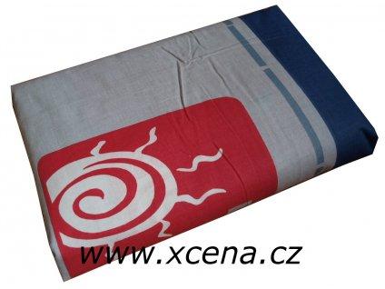 Povlečení bavlna 200x220, 70x90 modré
