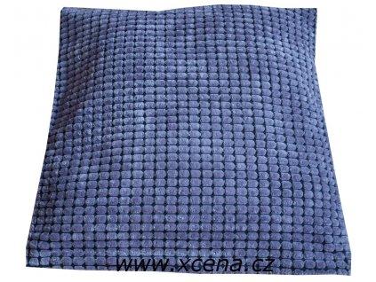Povlak semišový fialový 40x40cm