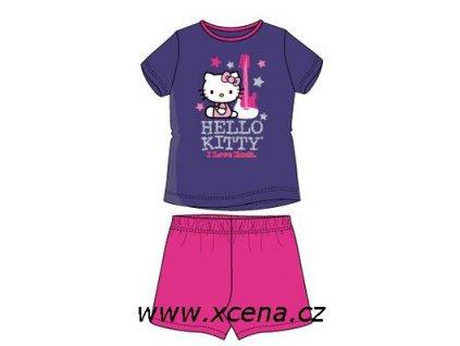 Hello Kitty komplet fialový