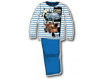 cars pyžamo chlapecké modré