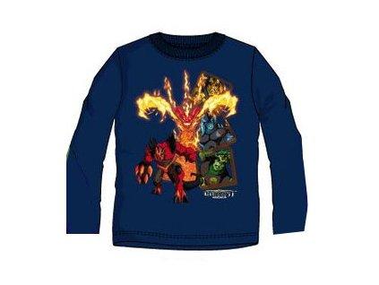 Gormiti tričko chlapecké tmavě modré