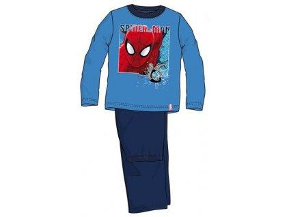 Spiderman pyžama světle modré
