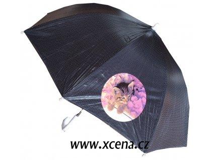 Deštník s kočičkou typ A