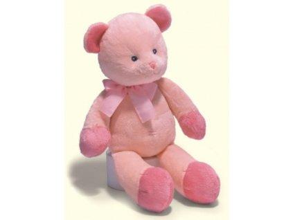 Medvídek chrastící růžový střední