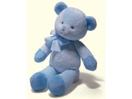 Medvídek chrastící modrý