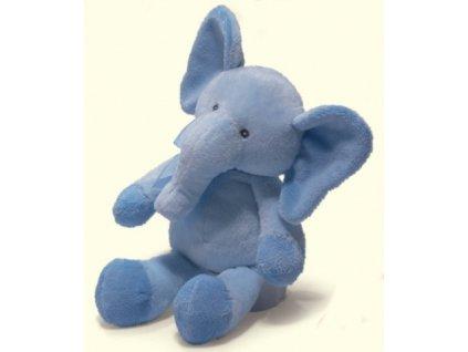 Sloník plyšový sětle modrý