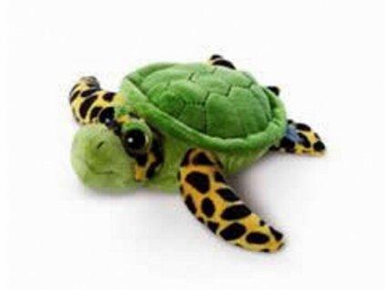 Plyšák želvička v plastovém pouzdře